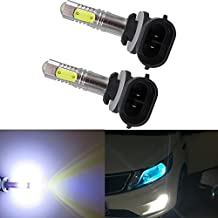 WLJH Extremely Bright h27 881 886 889 894 881 LED Fog Light Daytime Running Lamp 7.5W 12V 24V 600LM COB Chips Bulbs Plug and Play for Kia Sorento Hyundai