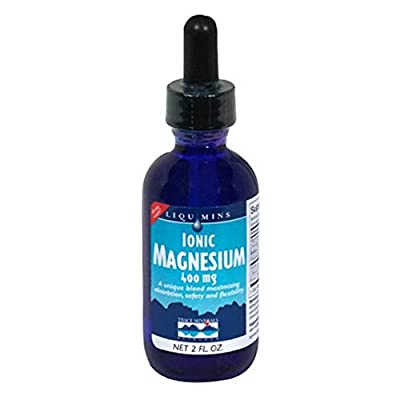 Trace Minerals Research IOM01 - Liquimins Ionic Magnesium, 400 mg, 2 Ounce (Pack of 3)