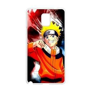 Naruto Samsung Galaxy Note 4 Cell Phone Case White O2453081