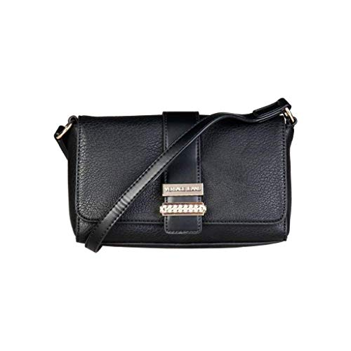 Donna Versace Pelle Jeans Pochette E1vqbbp6 Nero 75462 wqFfTIrq