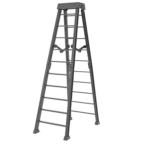 Large 10 Inch Breakaway Gray Ladder for WWE Wrestling Action Figures