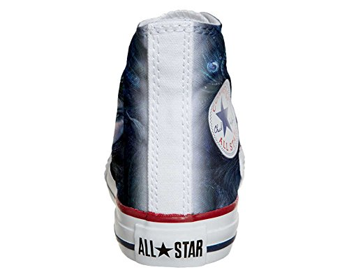 Converse All Star chaussures coutume mixte adulte (produit artisanal) Dark