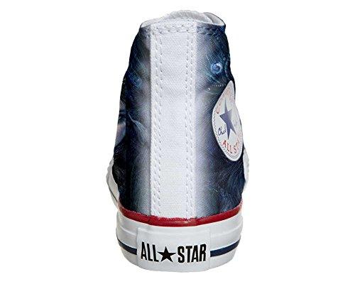 Scarpe Converse All Star personalizzate (scarpe artigianali) Dark