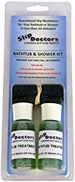 SlipDoctors Anti-Slip Bathtub/Shower Treatment Kit, Green