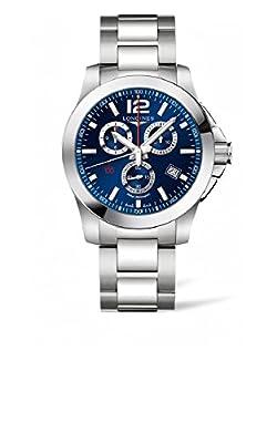 Longines Conquest Chronograph Blue Dial Mens Watch L38004966