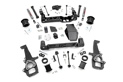 Rough Country - 324S - 6-inch Suspension Lift System w/ Performance 2.2 - Rough 37