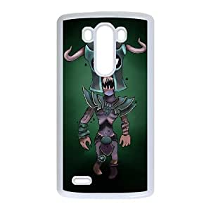 LG G3 Cell Phone Case White Defense Of The Ancients Dota 2 UNDYING 003 LWY3510471KSL