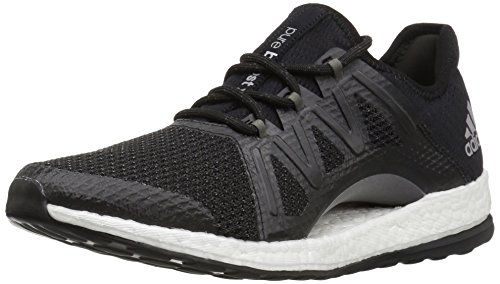 adidas Performance Women's Pureboost Xpose, Black/Black/Tech Silver, 7 Medium US by adidas