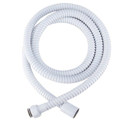Dura Faucet Stainless Steel RV Shower Hose Replacement (60-Inch) for Recreational Vehicles, Motorhomes, Travel Trailers, 5th Wheels, and Campers ()