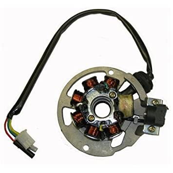 amazon com jog stator chinese scooter 49cc magneto stator parts jog stator chinese scooter 49cc magneto stator parts jog yamaha copy engine