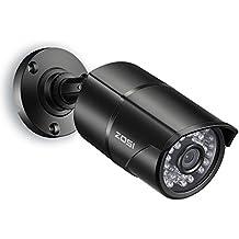 """ZOSI 1/3"""" CMOS 1000TVL 960H CCTV Home Surveillance Weatherproof 3.6mm lens with IR Cut Bullet Security Camera - 36PCS Infrared LEDs,100ft IR Distance,Aluminum Metal Housing"""