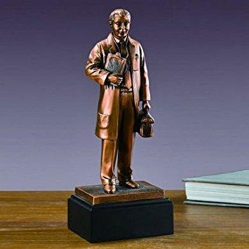 (Medical Doctor Statue - Bronze Finish)