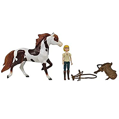 Spirit Breyer Riding Free Playsets Gift Bundle - Set of 3 Includes, Chica Linda & Boomerang!: Toys & Games