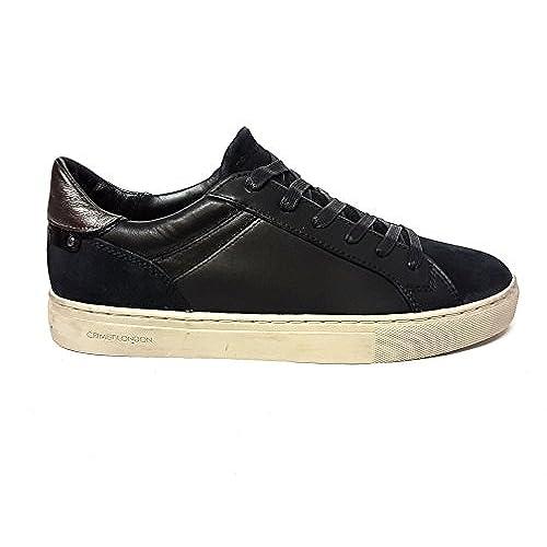 Chaussures En Cuir Pour Les Femmes Crime Londres Noir Noir Noir Taille: 36 RyKBJS4