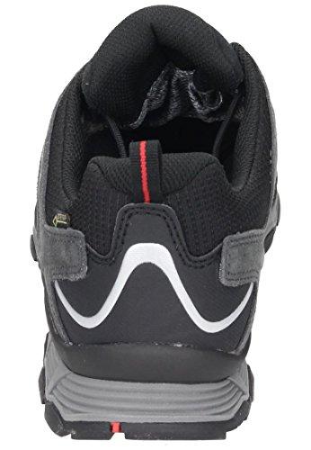 MEINDL Cuba GTX Zapato Caballero gris antracita/rojo