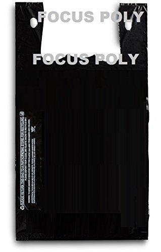 Plastic Grocery Jumbo Black Count product image