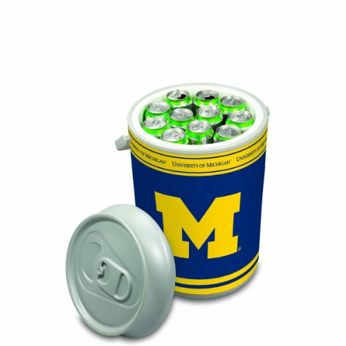 picture of NCAA Michigan Wolverines Mega Can Cooler, 5-Gallon