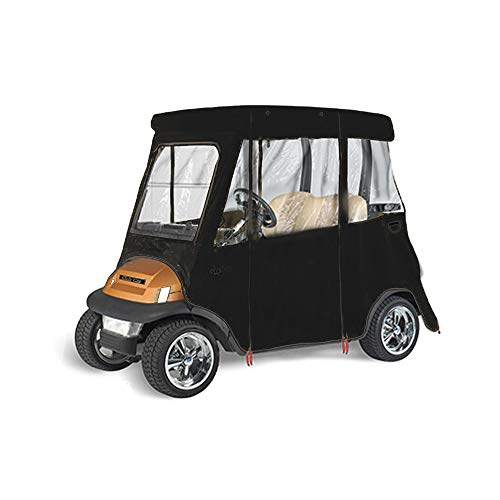 GreenLine Club Car Precedent Golf Cart Enclosure by Eevelle, 2 Passenger Drivable, Heavy Duty Vinyl Backed 300D (Custom Ez Go Golf Carts For Sale)