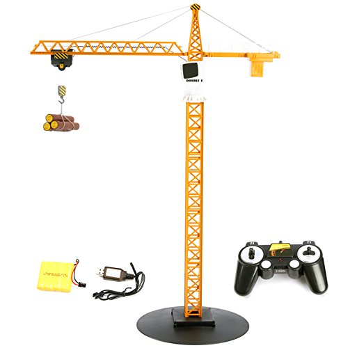 Cheerwing 2.4Ghz Simulation Remote Control Tower Crane RC Construction Toy