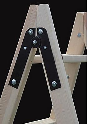 Escalera de madera 10 peldaños: Amazon.es: Industria, empresas y ciencia