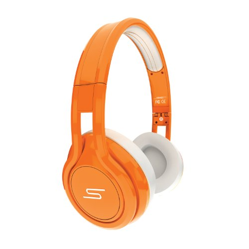SMS Audio STREET by 50 Cent On Ear Headphones – Orange