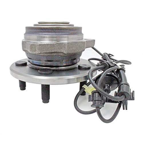 CRS NT513176 New Wheel Bearing Hub Assembly, Front Left (Driver), only for 2002-2007 Jeep Liberty