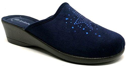 Blu Donna 60 Inblu Kl Da Pantofole Invernali Art Ciabatte wnvT87x1