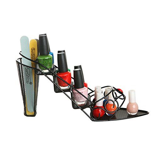 Jeweled Stiletto Cosmetic Organizer Display