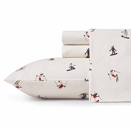 Eddie Bauer 223699 Ski Slope Sheet Set, Queen, Multi