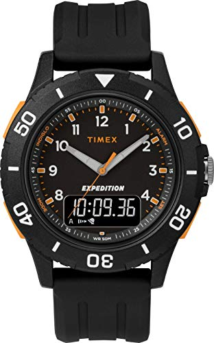 Timex Mens Analogue-Digital Quartz Watch with Resin Strap TW4B16700