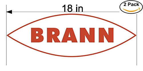fan products of Brann Norway Soccer Football Club FC 2 Stickers Car Bumper Window Sticker Decal Huge 18 inches