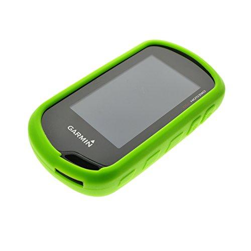New Green Skin Protect Silicone Rubber Case for GPS Garmin Oregon 600 600T 650 650T 700 750 750T (650 Garmin Case)