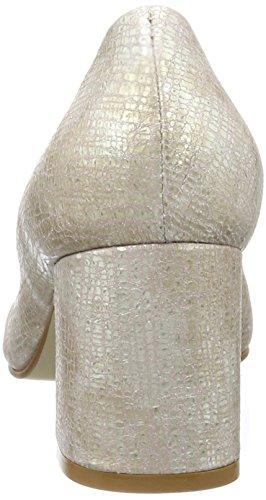 Noe Antwerp Damen Nipi Pumps Silber (Platino)