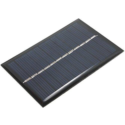ROUHO 6V 100Ma 0.6W Polykristalline Mini Epoxy Solar Panel Photovoltaik Panel