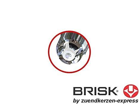 BRISK Premium Racing DOR14LGS 3025 Bujías de Encendido, 2 piezas: Amazon.es: Coche y moto