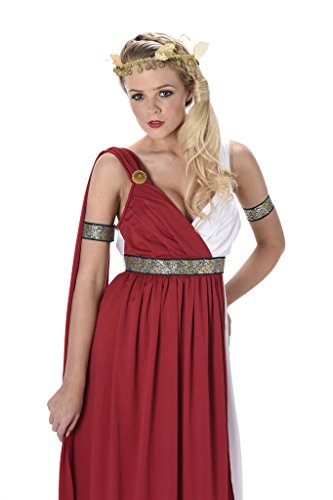 [Women's Roman Empress Costume - Halloween (XS)] (Pretty Scary Halloween Costumes)