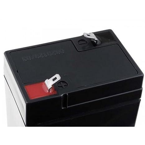 FIAMM Recambio de Batería para Peg Perego Feber Injusa Smoby Diamec 6V 4 5Ah1: Amazon.es: Electrónica