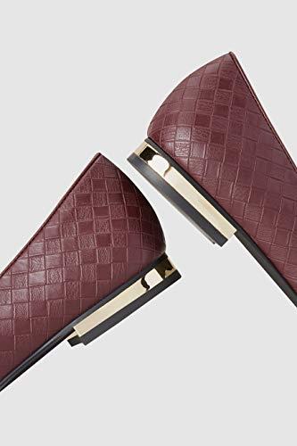 Donna Scarpe Pantofola Next Berry Effect A Weave dFwO86
