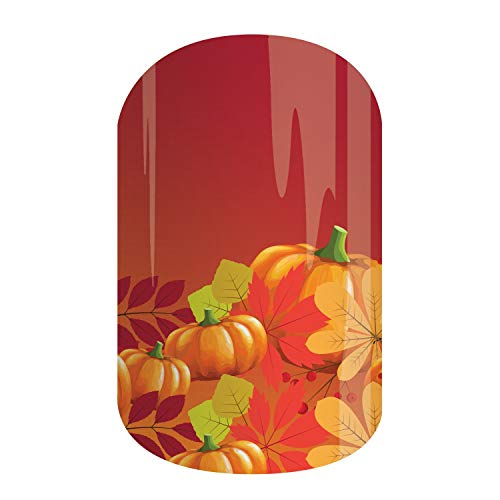 Halloween Toe Nail Ideas (Halloween & Fall Seasonal 2019 Collection   Jamberry Nail Wraps   Nail Decal Design   Nail Art Stickers   Perfect Autumn Gift (Half Sheet - 1 manicure / 1 pedicure,)