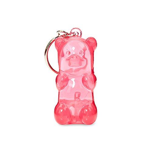 - Gummygoods Bite-Sized Gummy Bear Keychain Nightlight in Pink