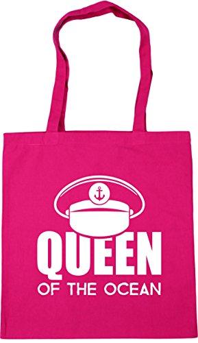 Tote 10 Fuchsia Queen Bag litres 42cm Shopping the ocean HippoWarehouse Gym of x38cm Beach xw4qpUF6I