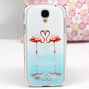 GOG-The Faithful Flamingo Pattern PC Back Case for Samsung S4/I9500
