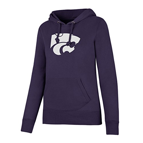 NCAA Kansas State Wildcats Women's Ots Fleece Hoodie, Medium, Purple