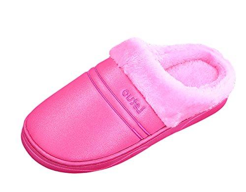 Plat Femme Pantoufles Maison Slippers Chaussons Insun Rose et 2 Chaussures Homme RqSx7fxIYw