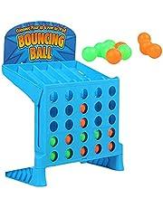 Gaming Connect 4 Shots-spel Connect 4 Shots spel Linking Shots Bounce-spel kinderen leerpuzzel speelgoed, ouder-kind interactie-tafelspel, verjaardagscadeau voor kinderen