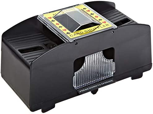 ampusanal Automatic Card Shuffler Machine for Board Games and Poker Games 22 x 12 x 10cm