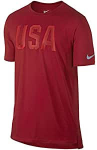 Team USA Nike Stealth Performance T-Shirt (Red, Large)