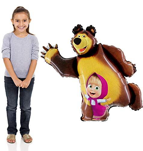 - Masha and the Bear Super Shape Figure of Masha Balloon Party Supplies 35 inch