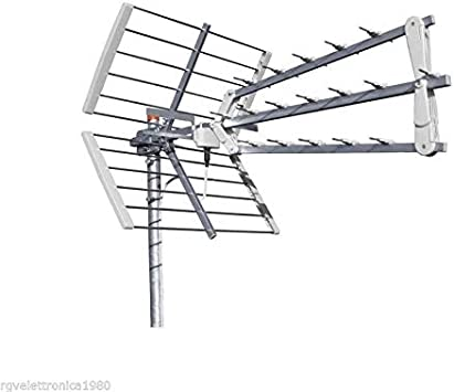 Antena Digital terrestre LTE Trio 3D OFFEL TRIPLA UHF 17 dB 21-505B