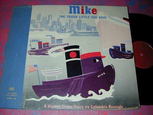 Tugboat Set - MIKE The Tough Little Tug Boat (2 Record Set)